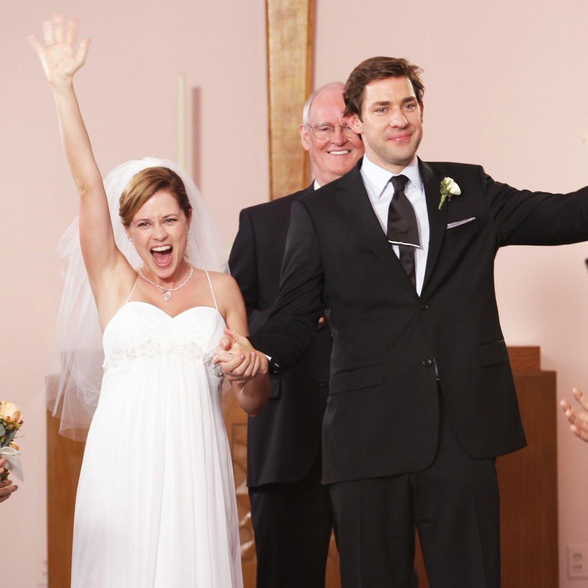 jenna fischer 'the office' getty images