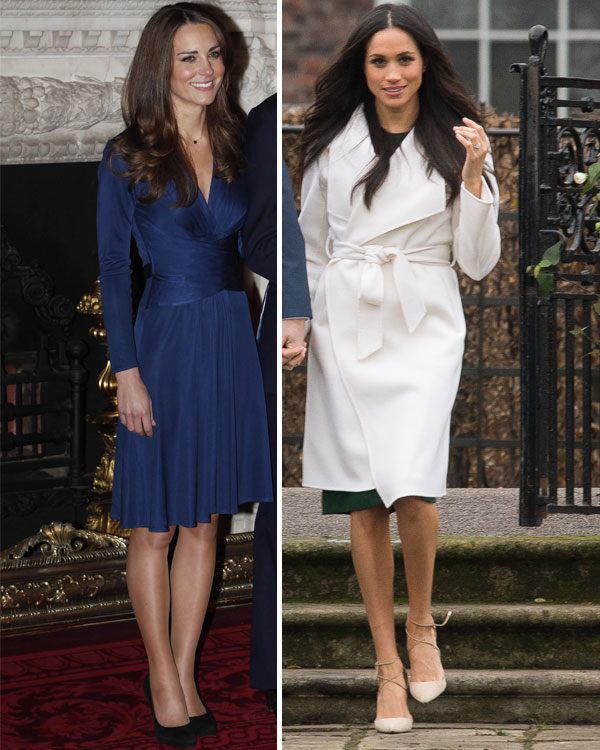 kate middleton, meghan, markle, getty