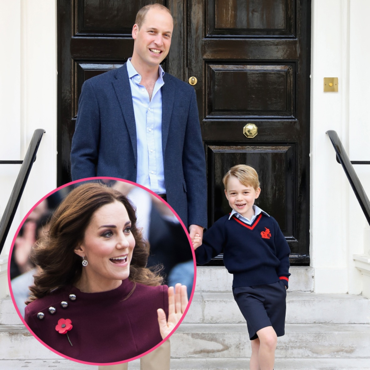 kate middleton prince george school getty images
