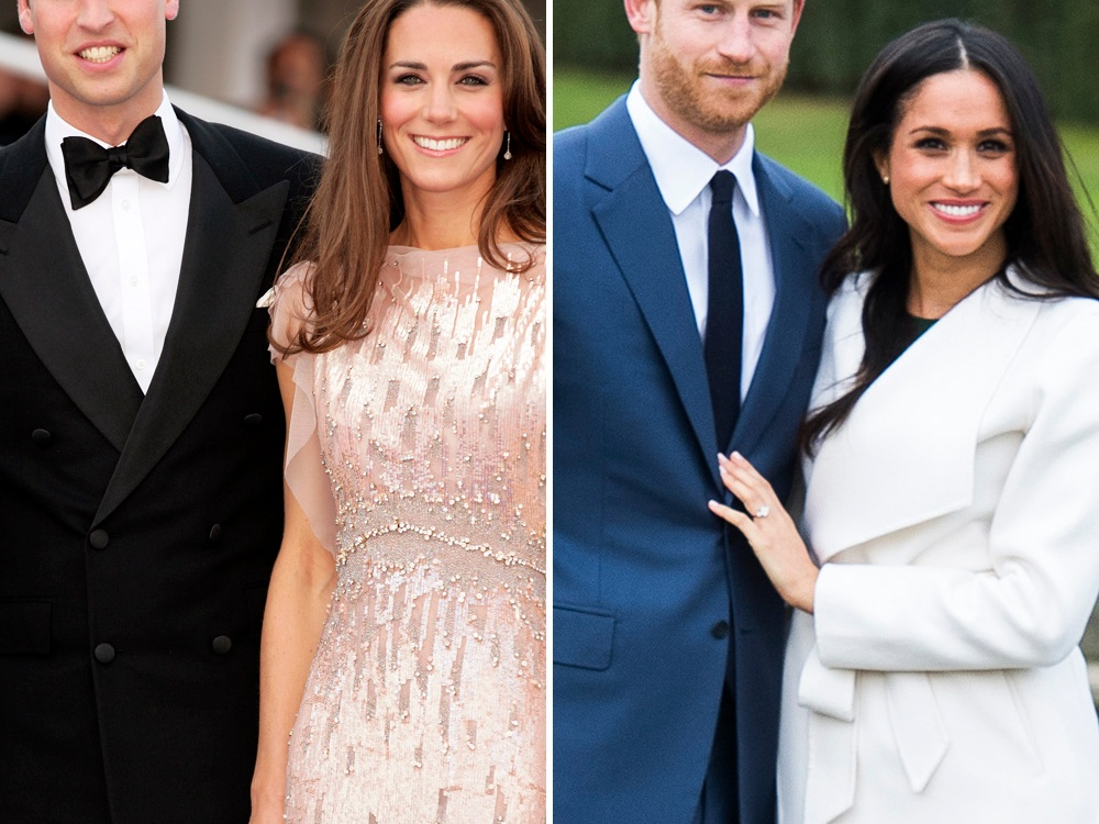 prince william kate middleton prince harry meghan markle getty images