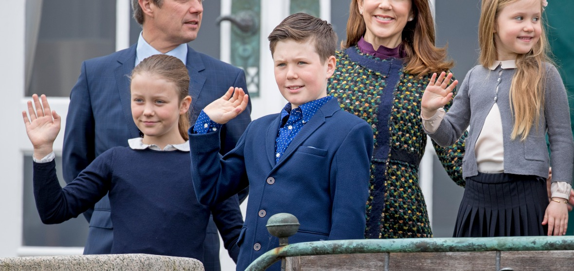 prince frederik and princess mary of denmark getty images
