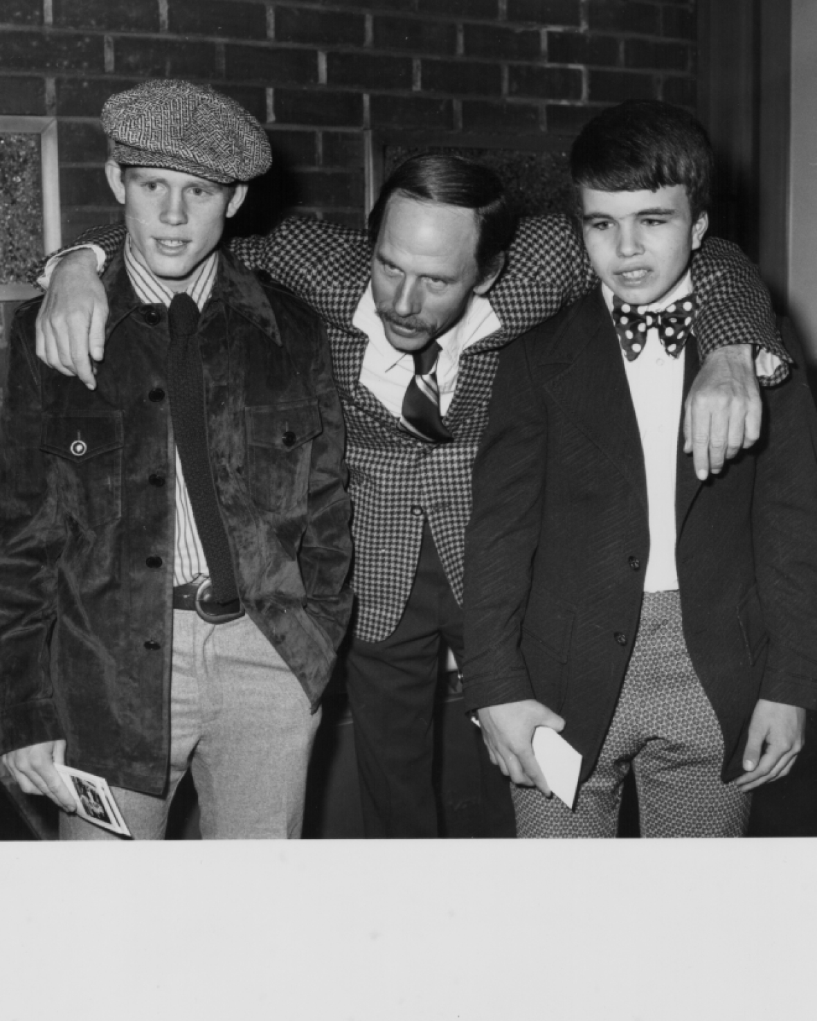 rance howard sons clint and ron in 1974 getty