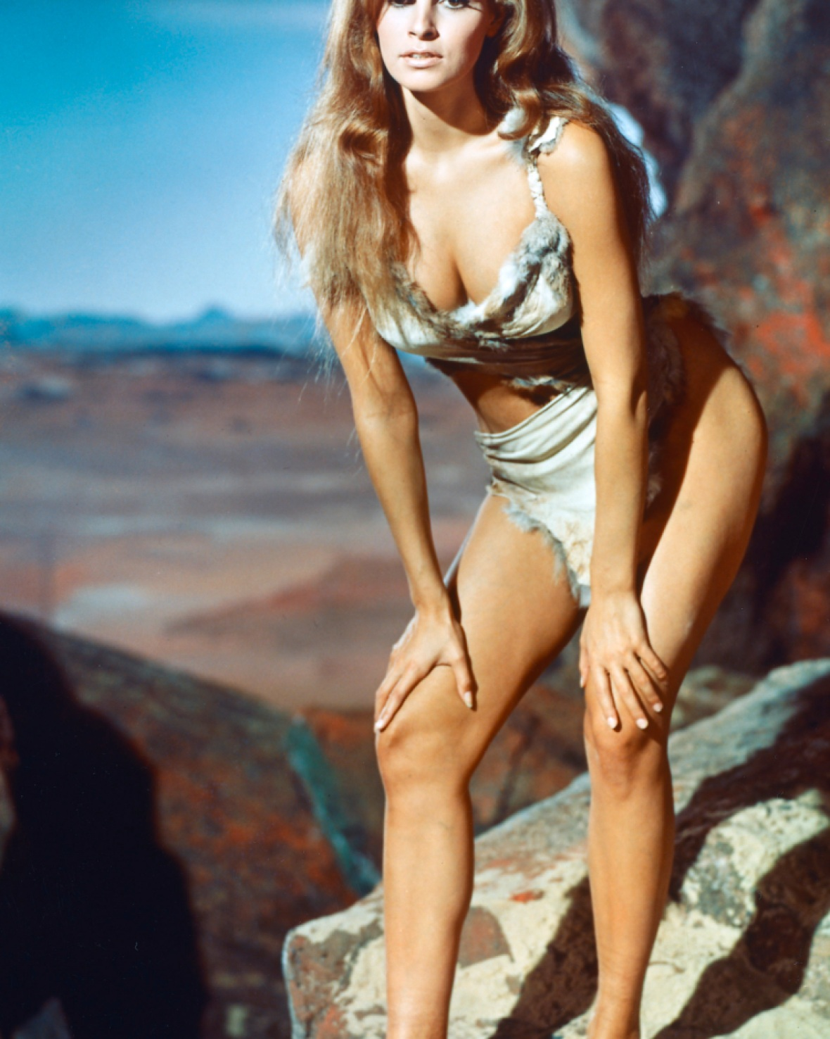 raquel welch 'one million years b.c.' getty images