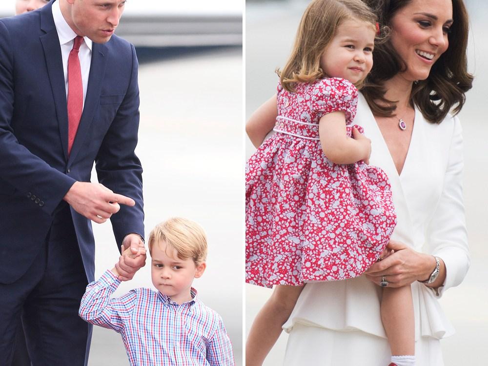 royal family poland splash