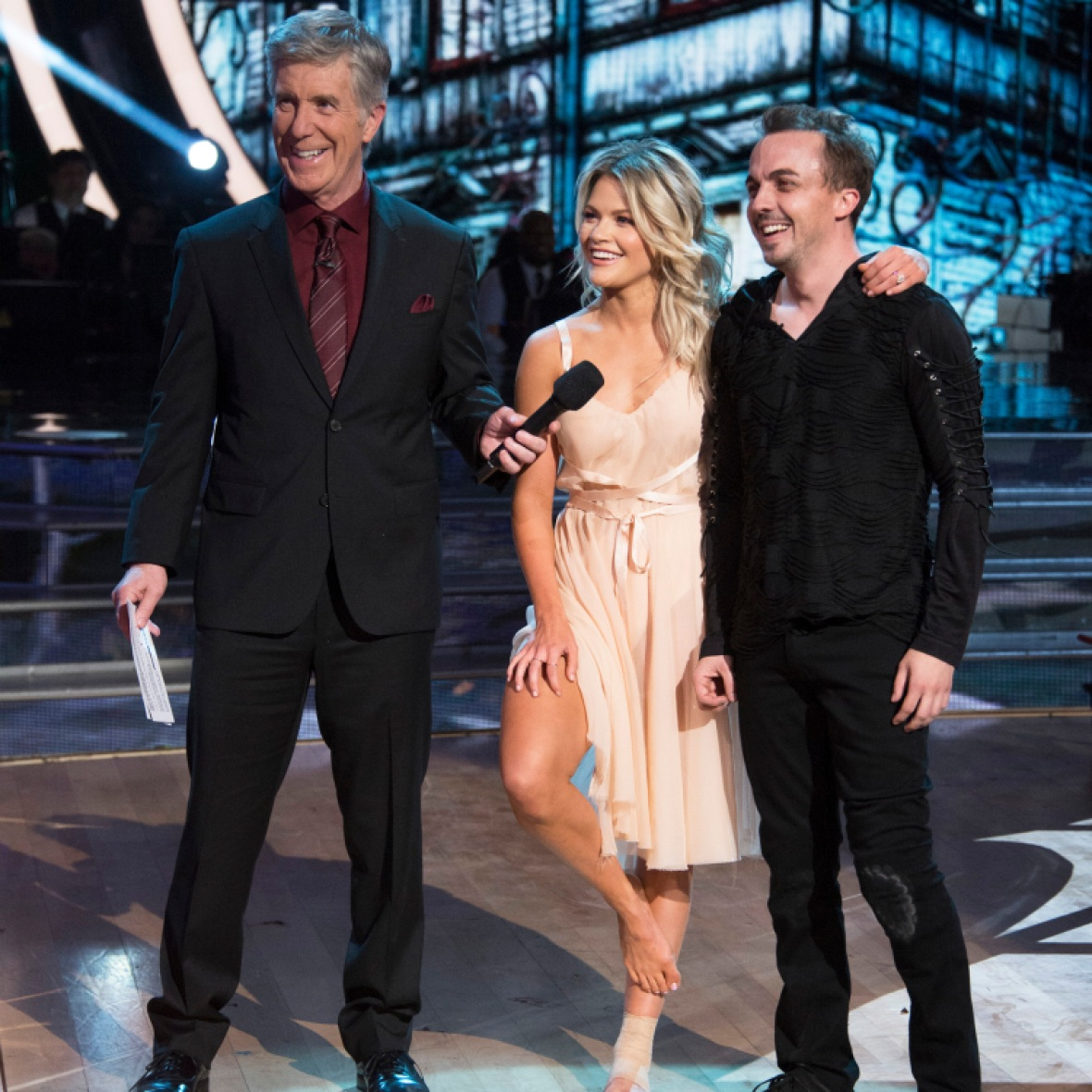 tom bergeron witney carson getty images