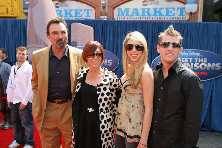 tom selleck family — getty images