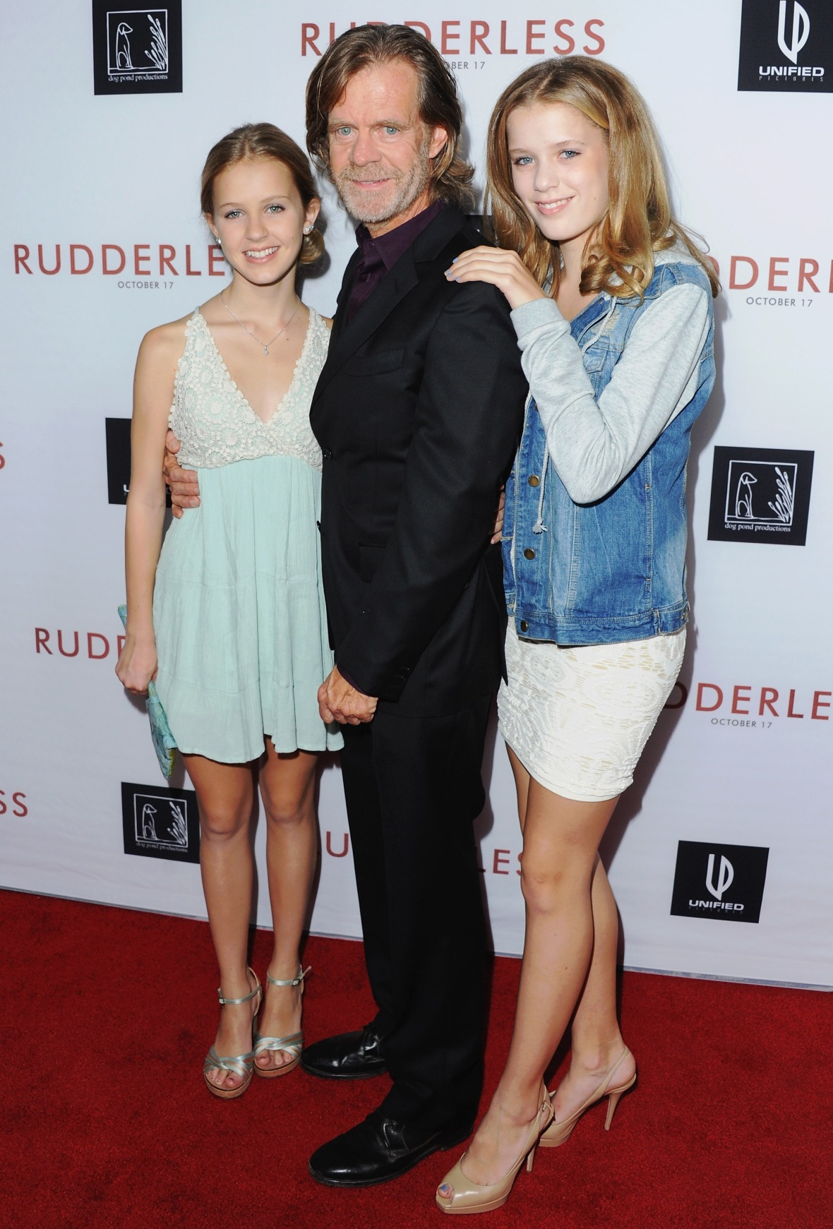 william h. macy daughters getty images