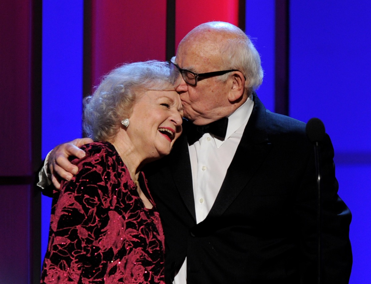 betty white ed asner getty images