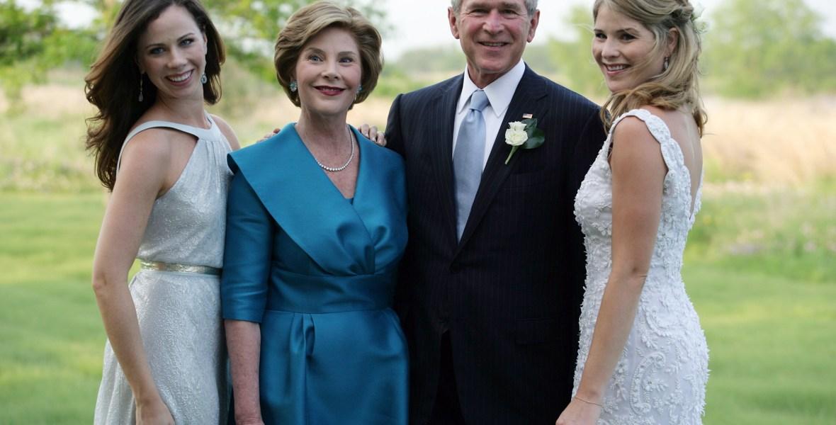 bush family getty