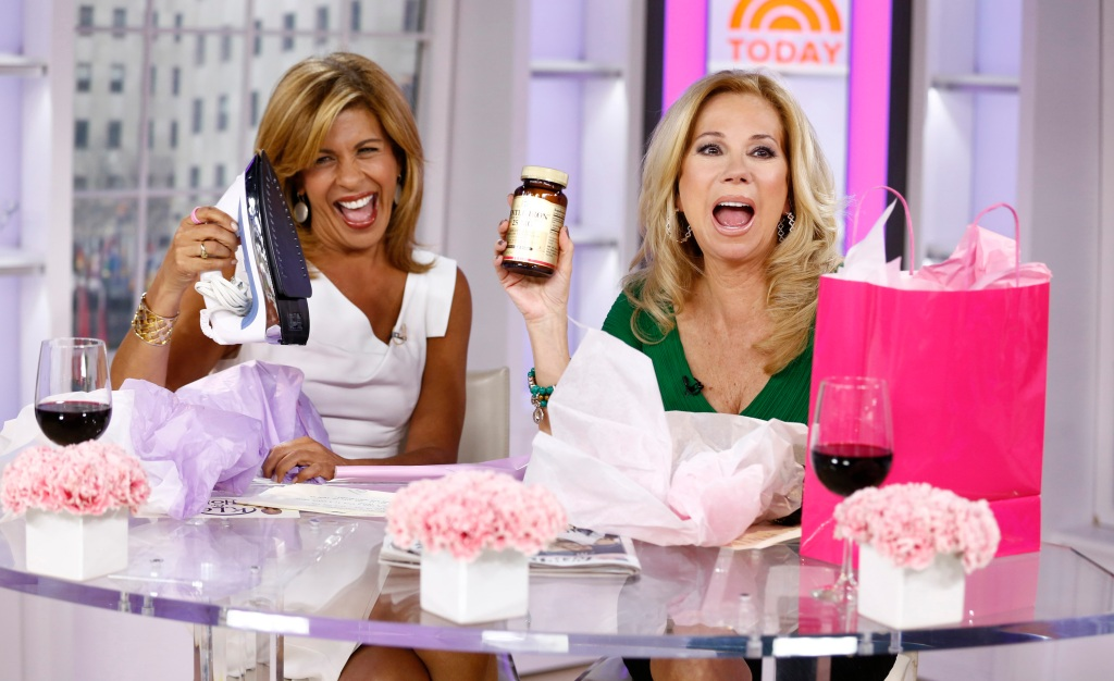 Hoda Kotb Kathie Lee Gifford Today