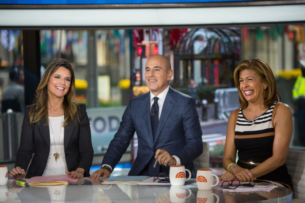 hoda kotb today show getty images