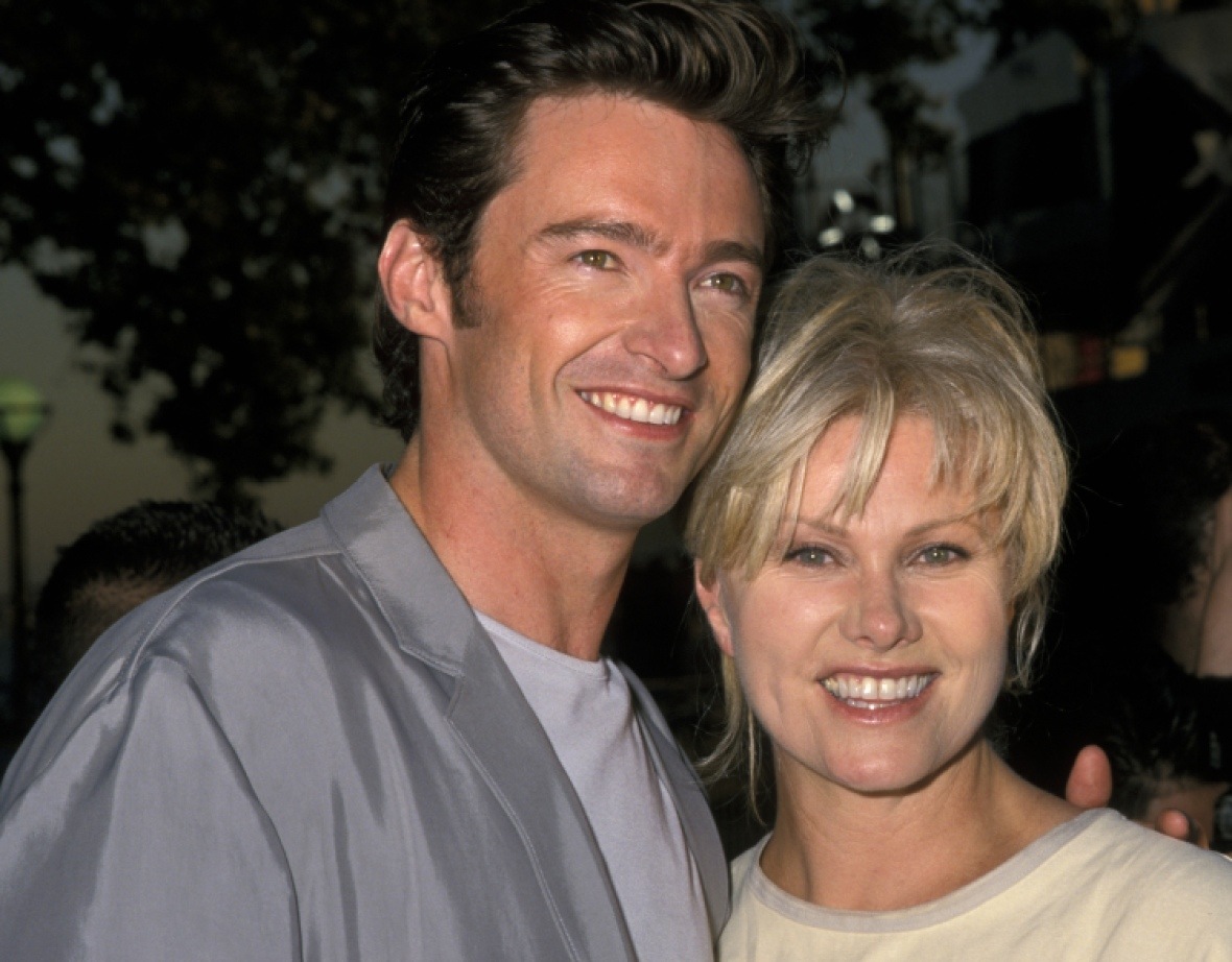 hugh jackman deborra lee furness getty images