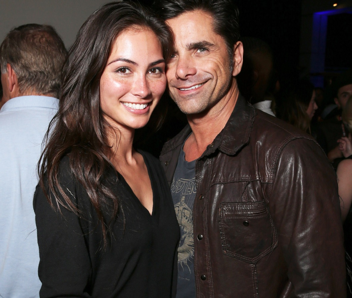 john stamos girlfriend getty images