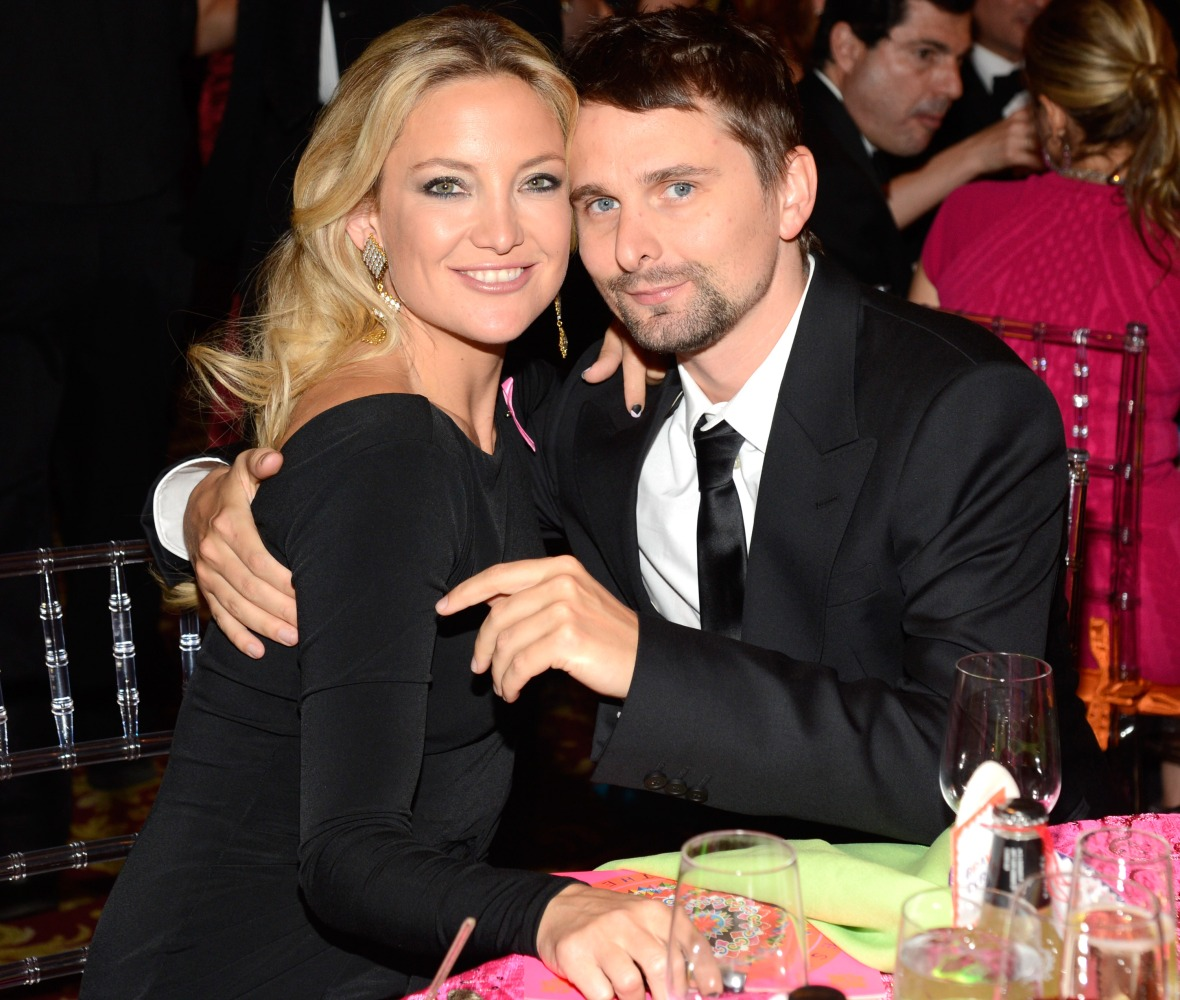 kate hudson matt bellamy getty images