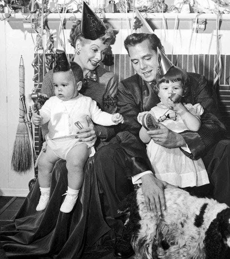 desi lucy family - getty