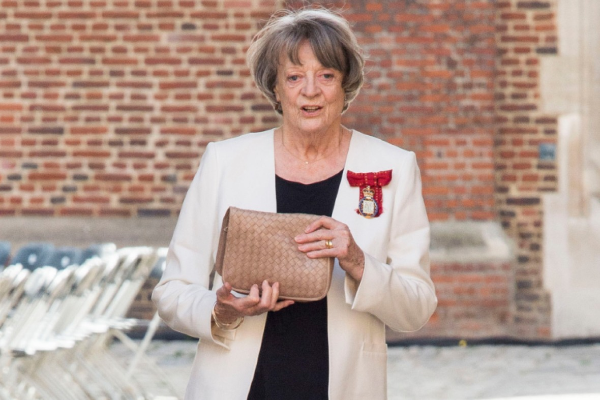 maggie smith getty images