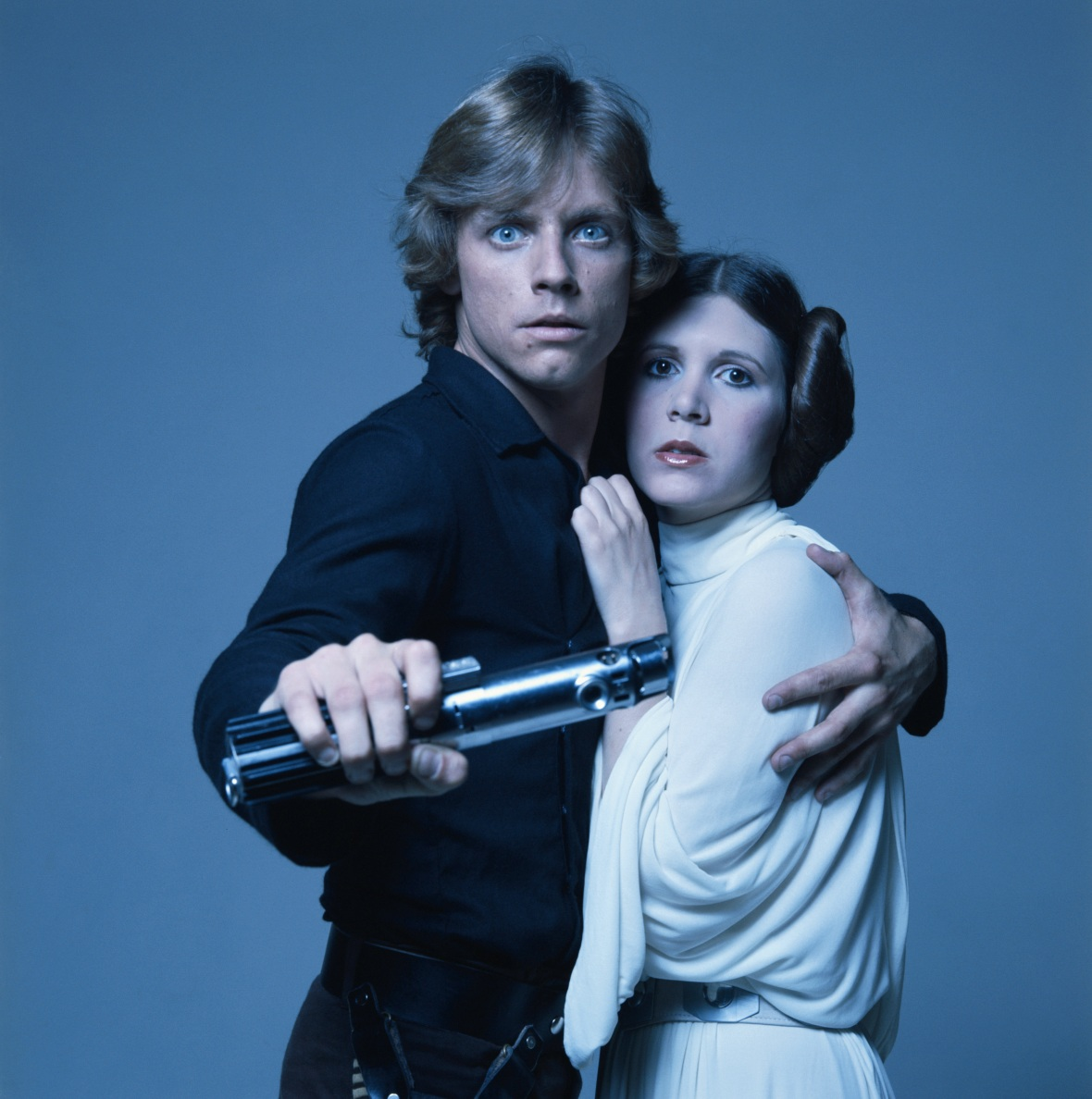 carrie fisher mark hamill getty images