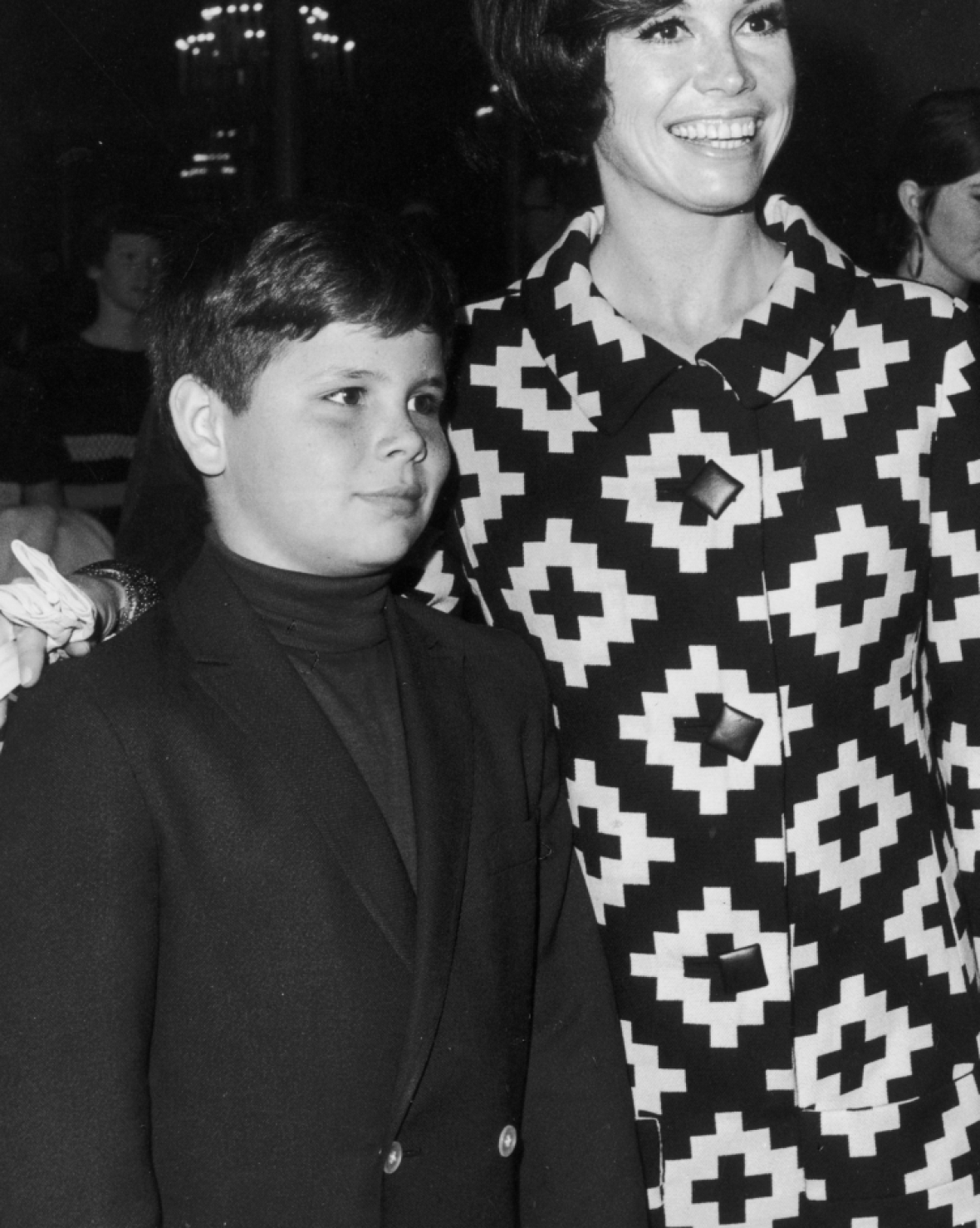 mary tyler moore son richie meeker getty images