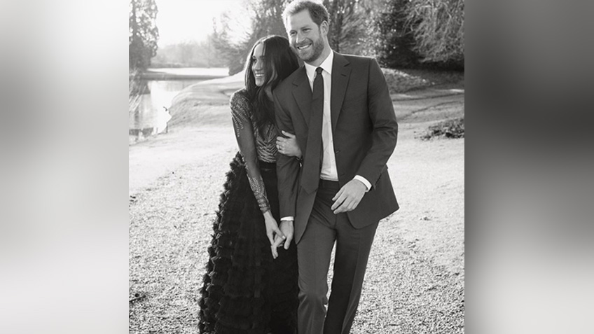 Did Meghan Markles Engagement Photos Dress Break Royal Protocol