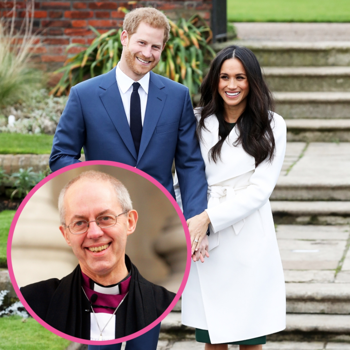 prince harry meghan markle justin welby getty images