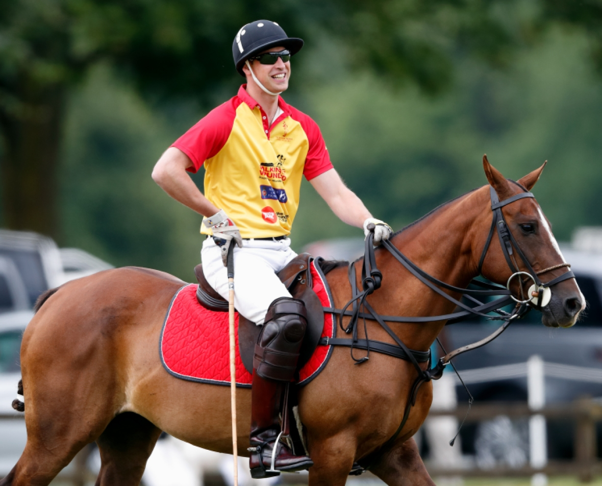 prince william polo getty images