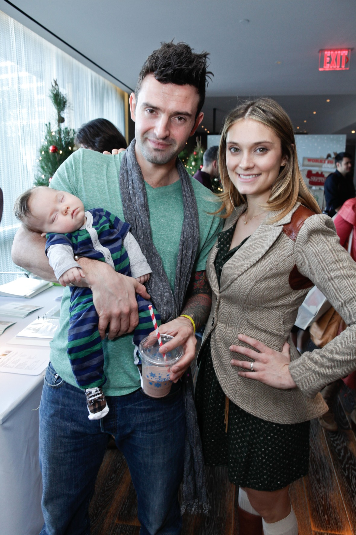spencer grammer family getty images