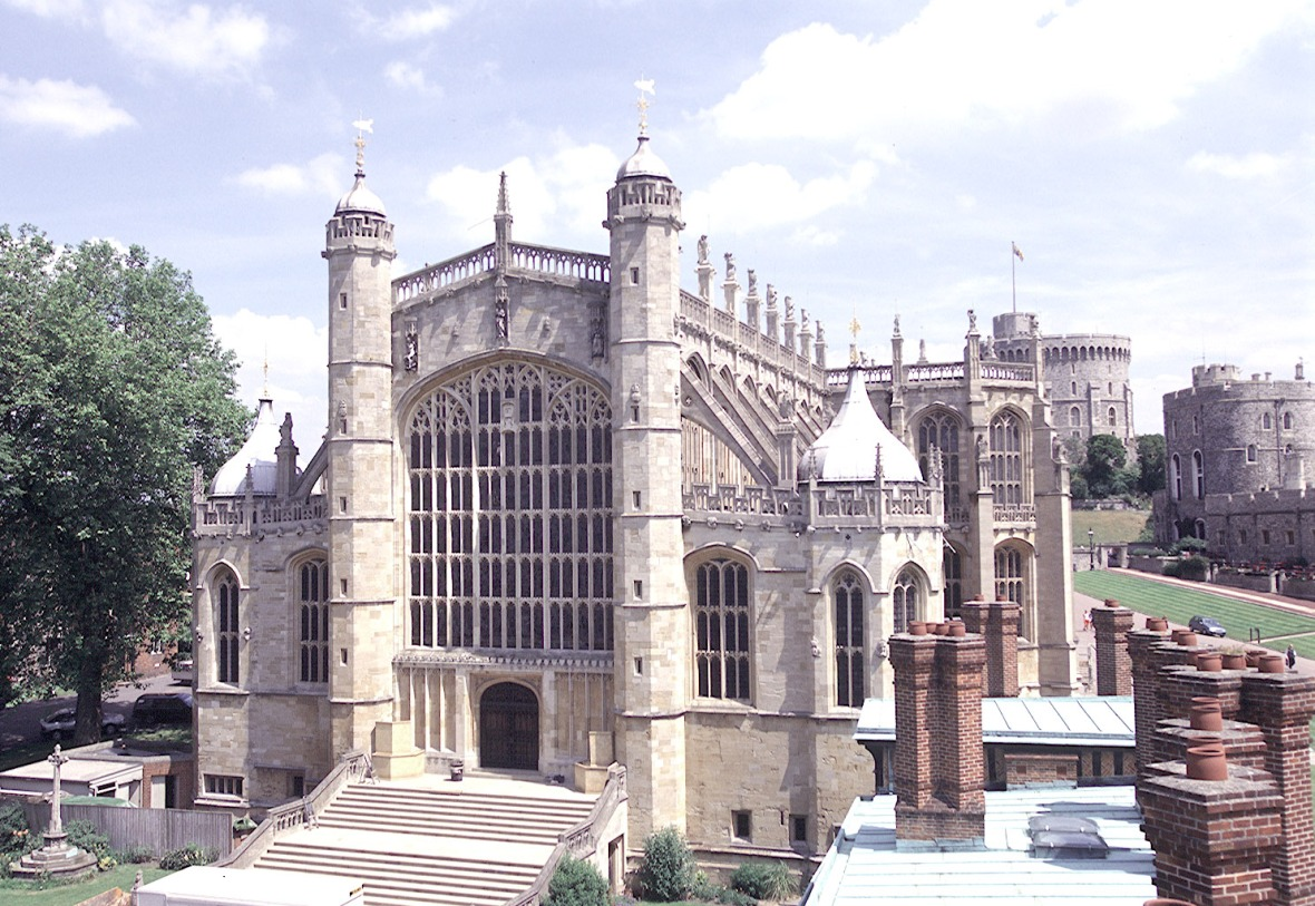 st. george's chapel windsor castle getty images