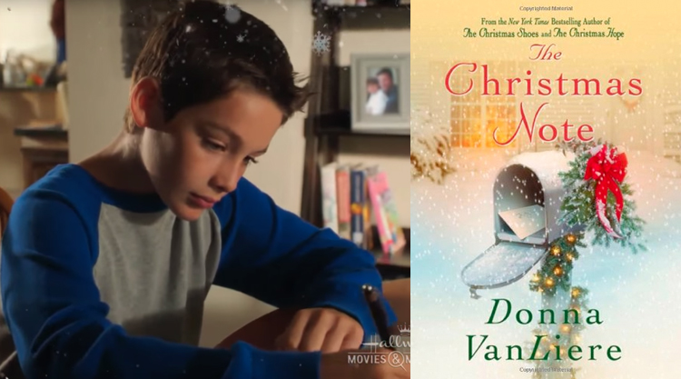 The Christmas Note.Top Hallmark Christmas Movies Based On Books Or Short Stories