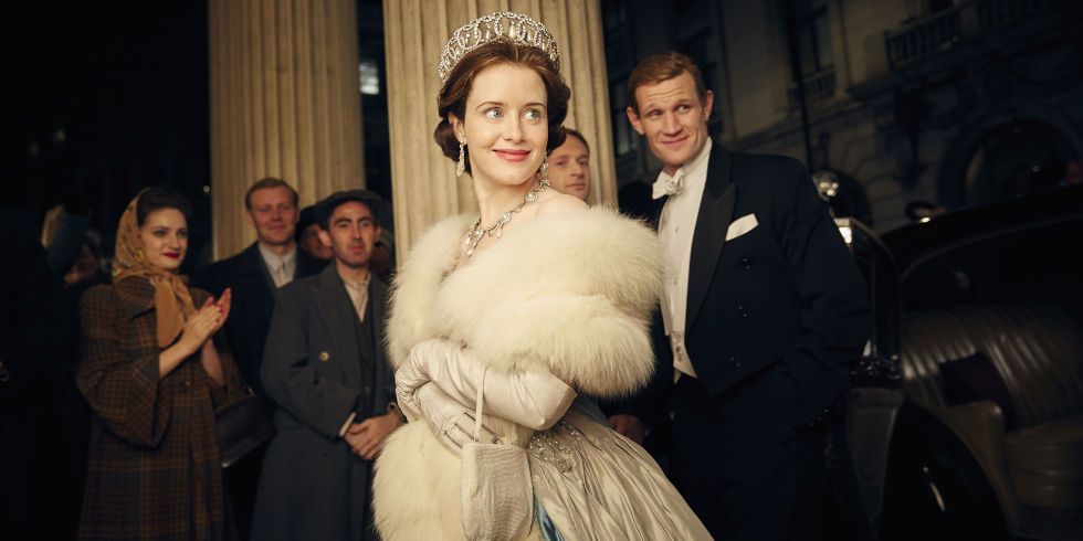 claire foy 'the crown' getty images