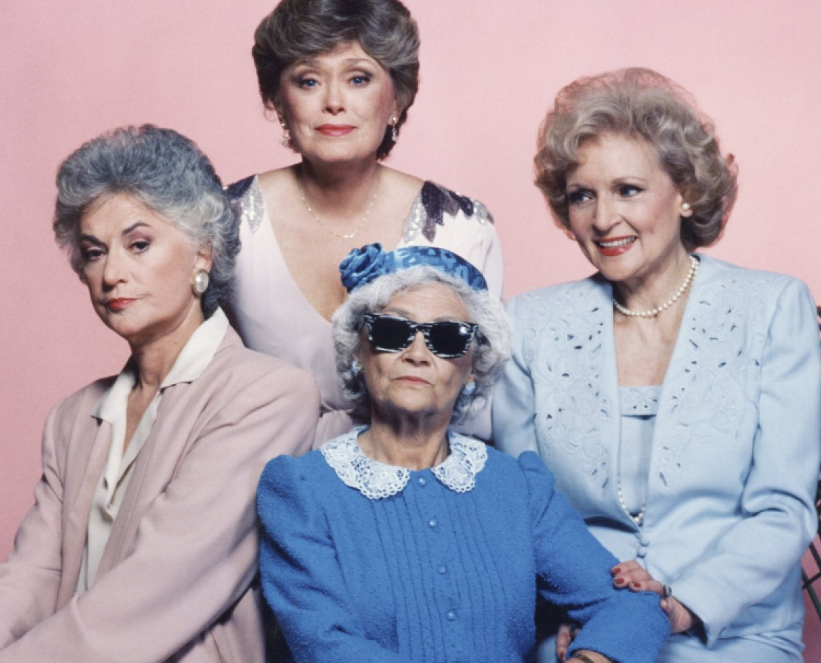 the golden girls getty images