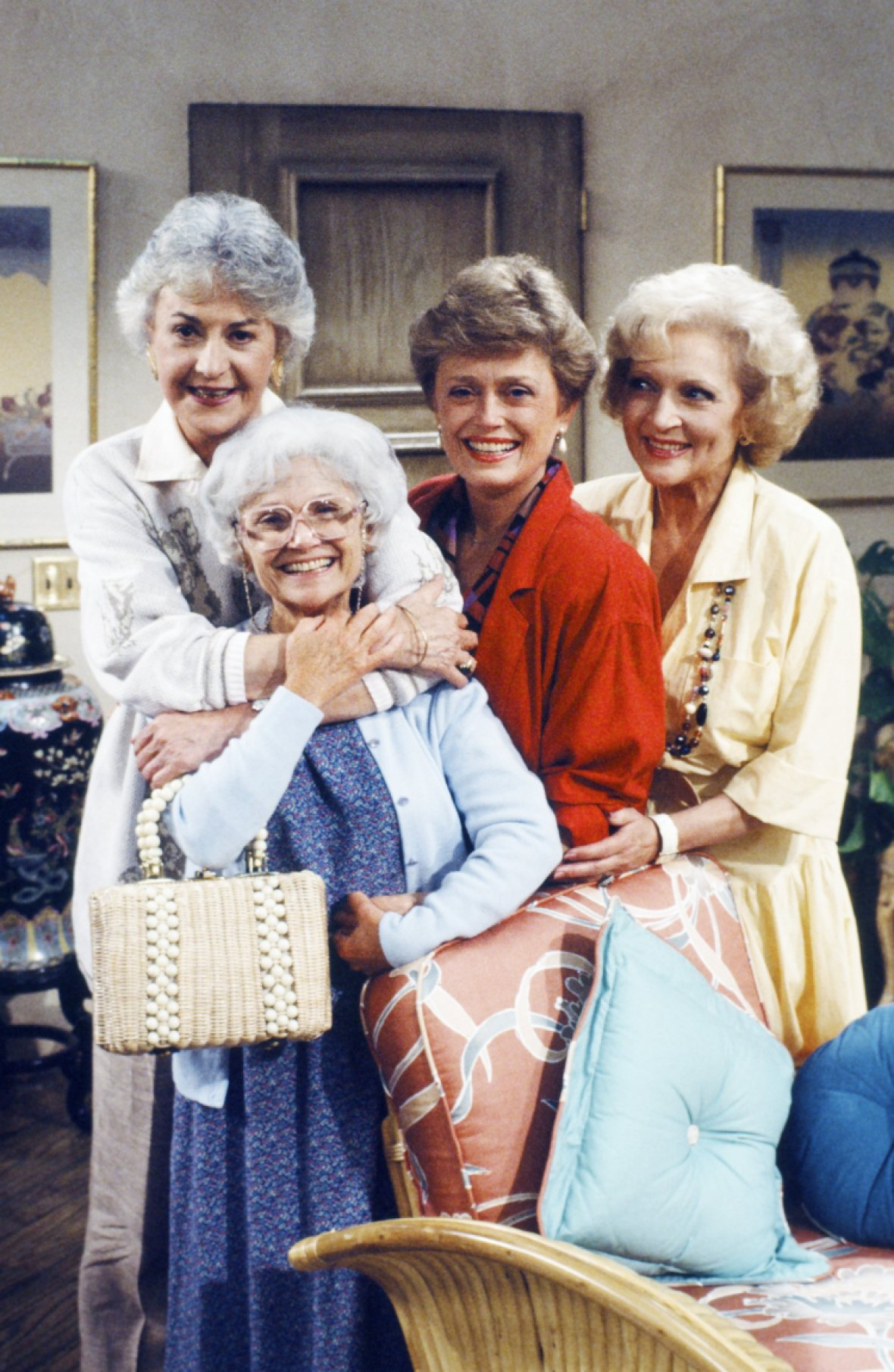 'the golden girls' getty images
