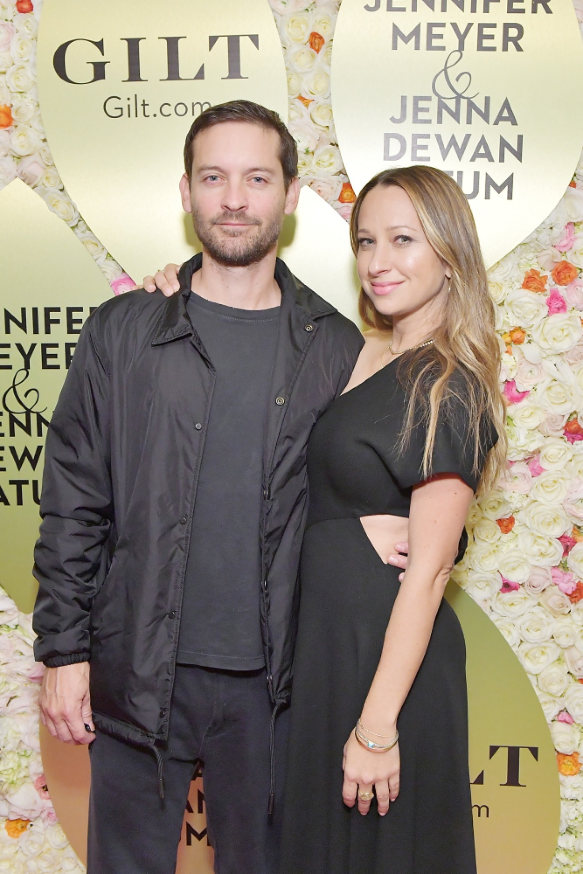 tobey maguire jennifer meyer getty images