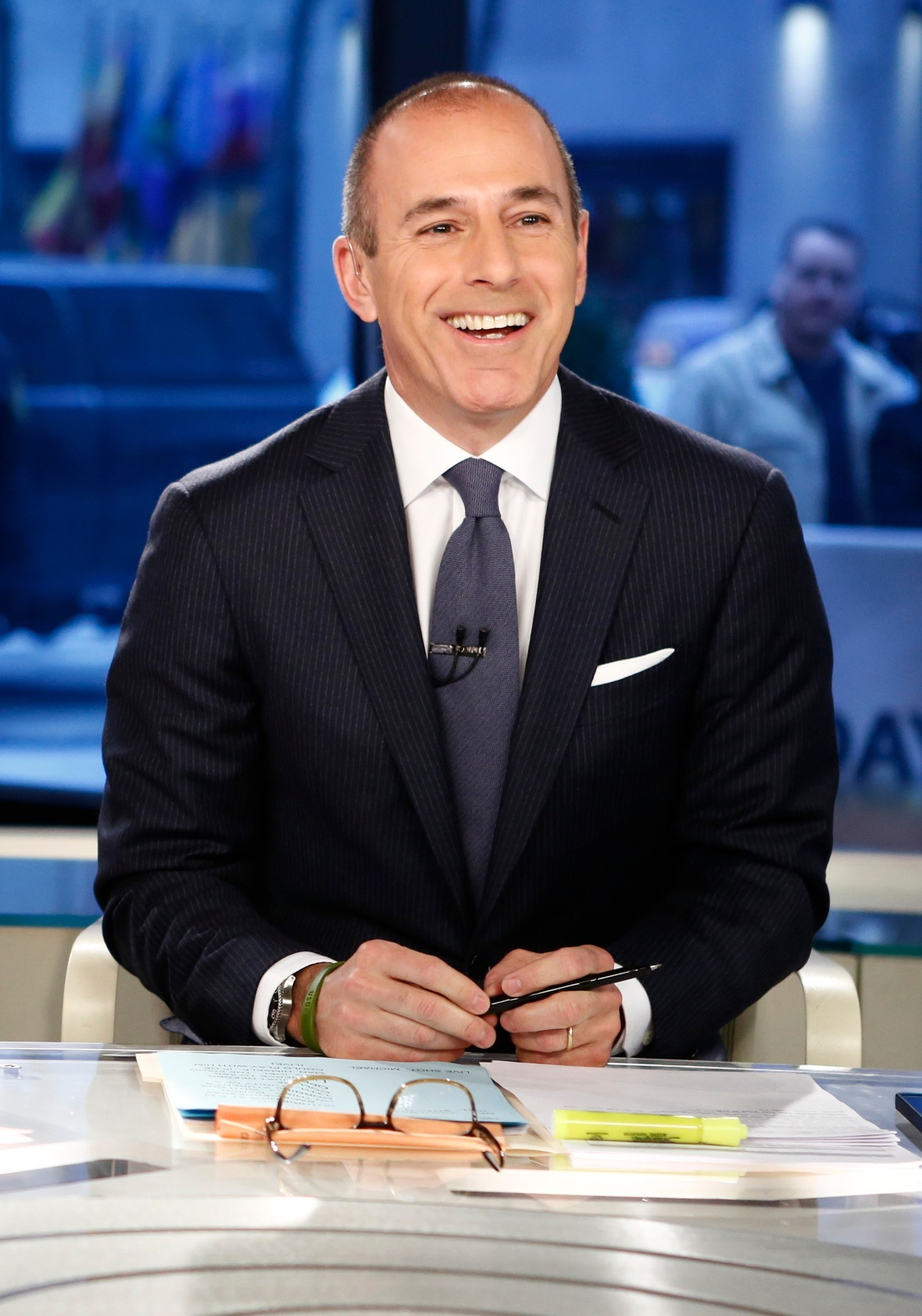 matt lauer today show getty images
