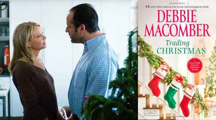 top hallmark christmas movies based on books or short stories - Debbie Macomber Trading Christmas