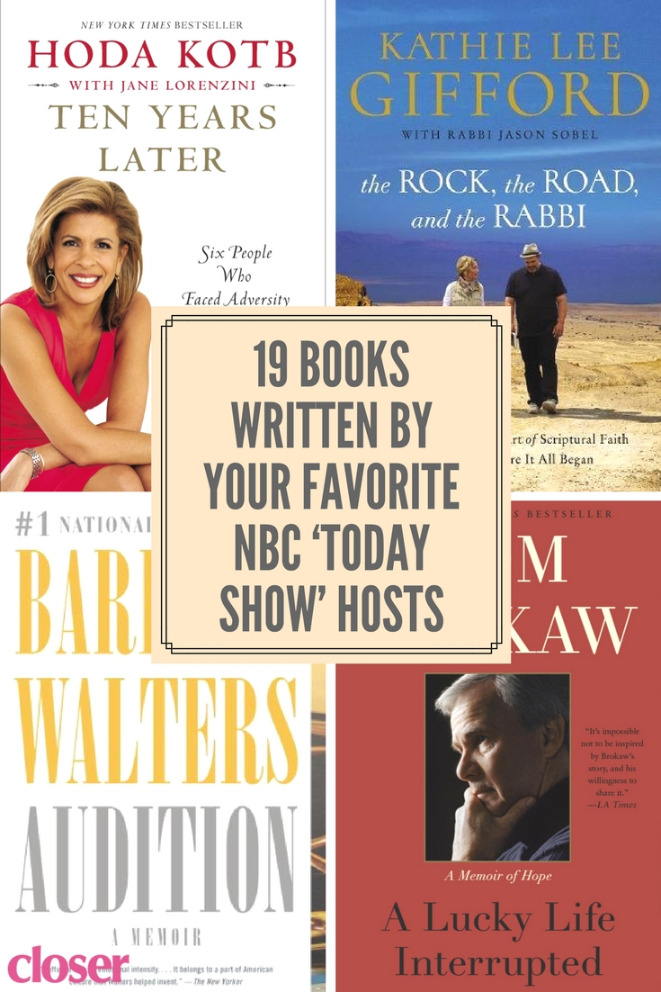 19 books written by your favorite nbc 'today show' hosts