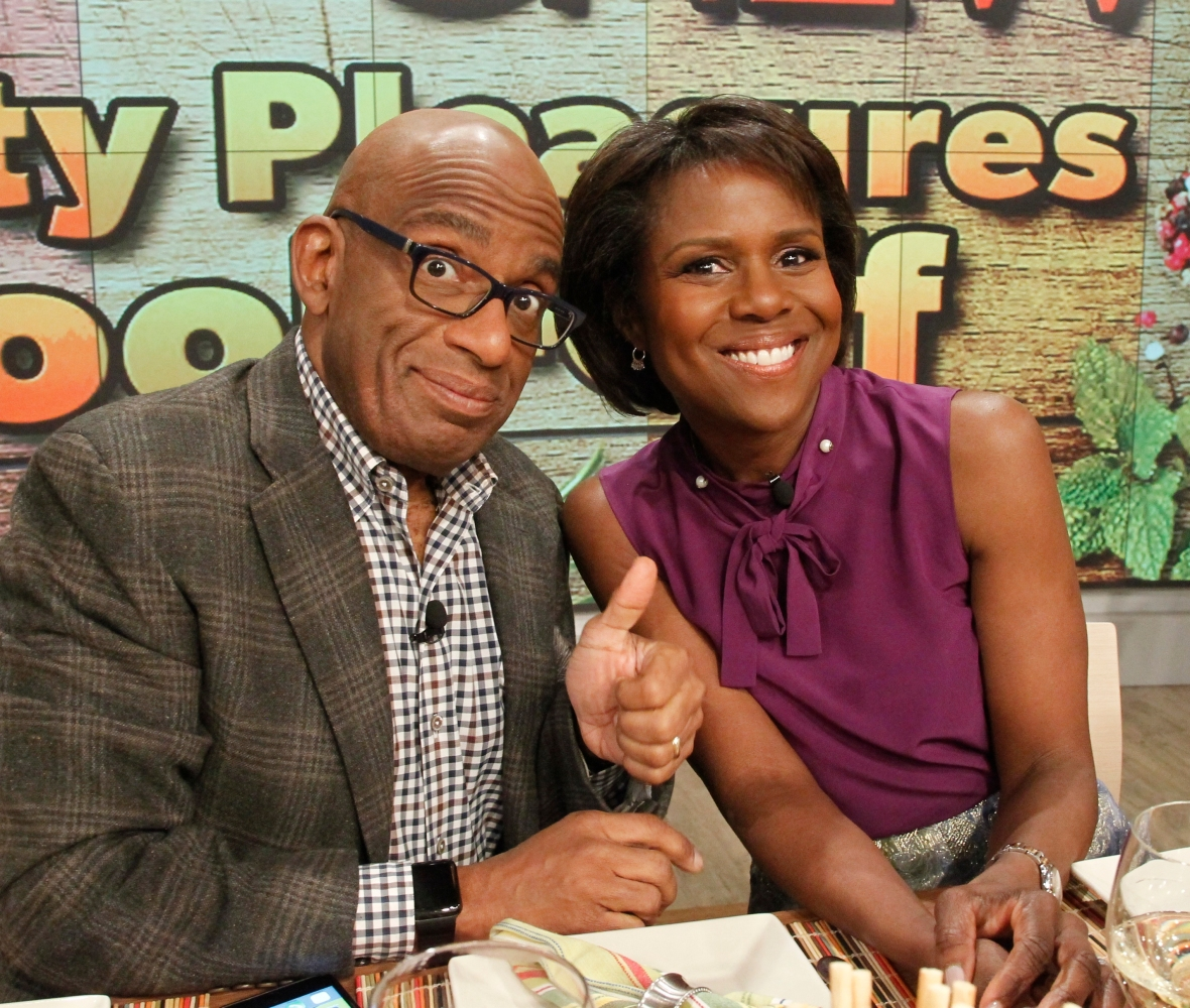 al roker deborah roberts getty images