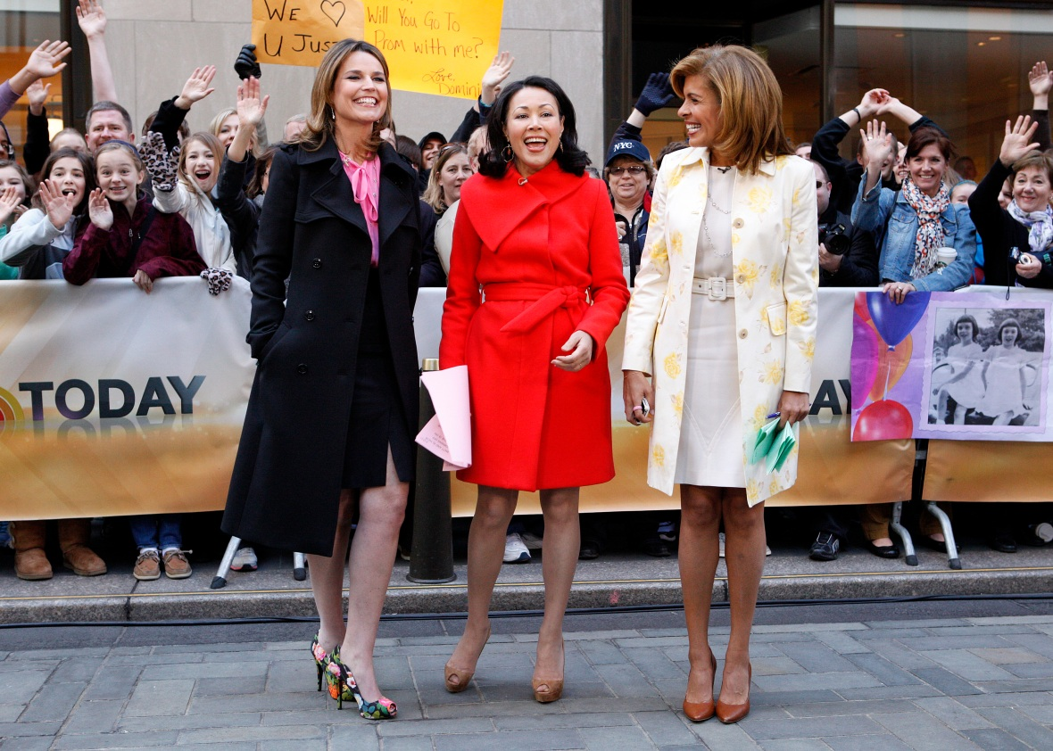 ann curry today show getty images