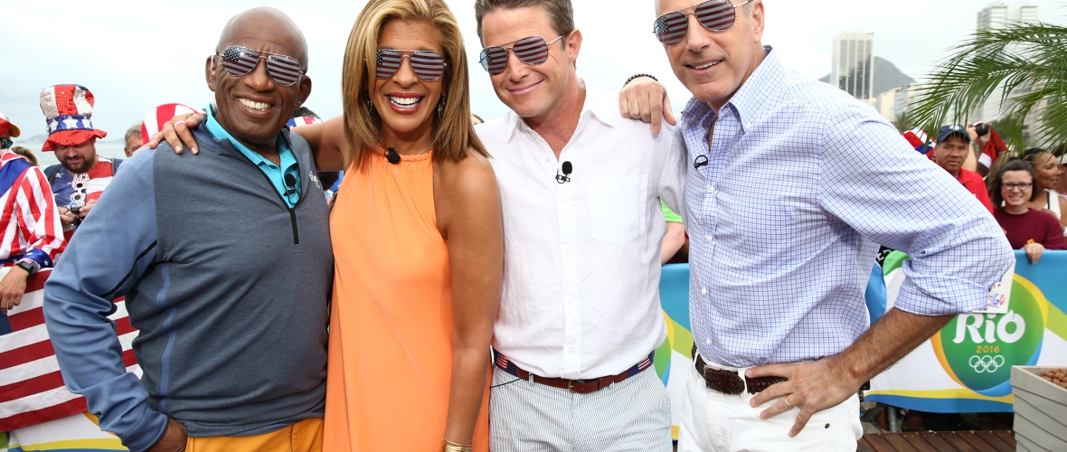 matt lauer billy bush today show getty images