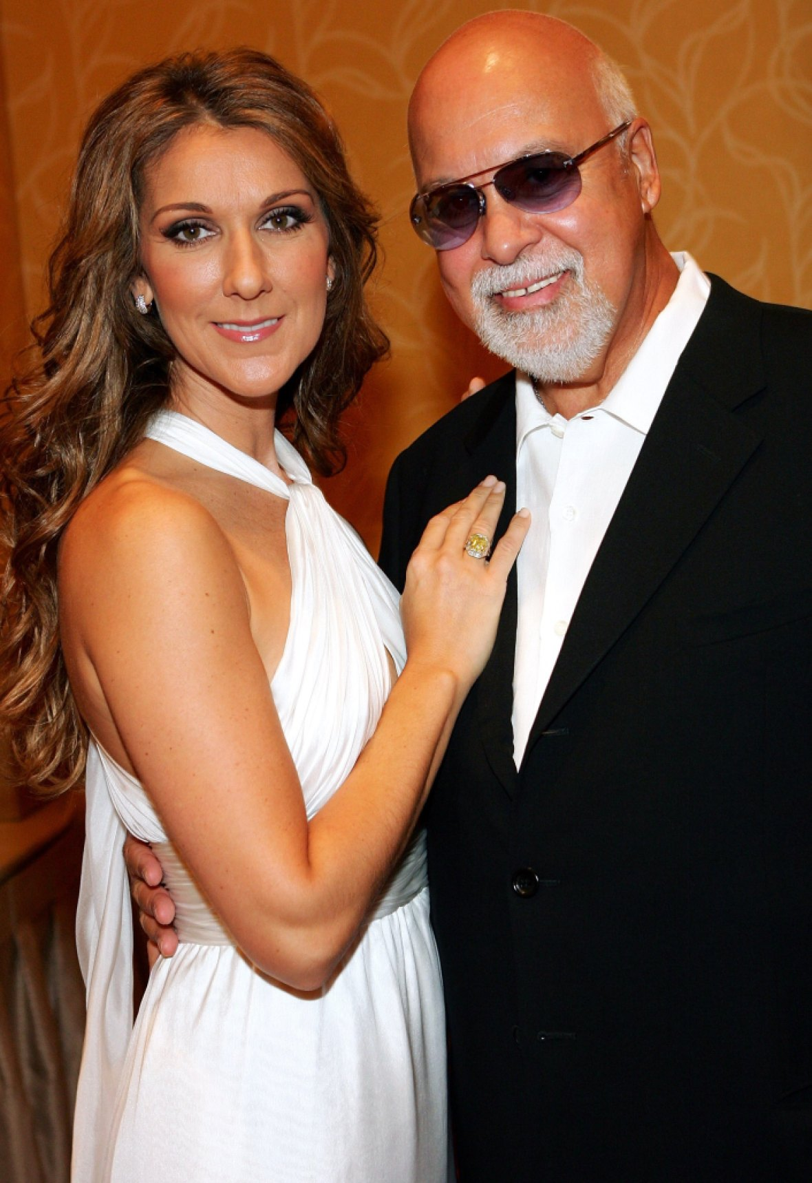 celine dion and her husband getty images