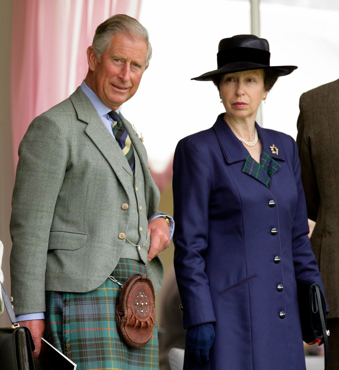 prince charles and princess anne getty images