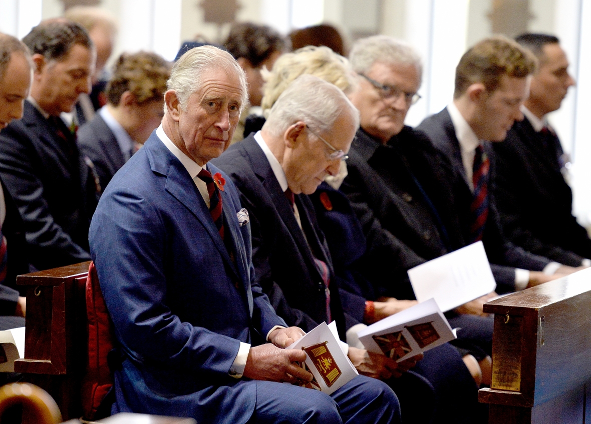 prince charles attends remembrance day getty images
