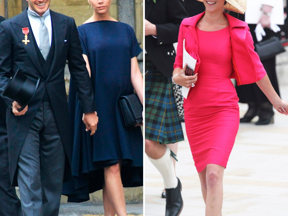 david victoria beckham joss stone royal wedding getty images