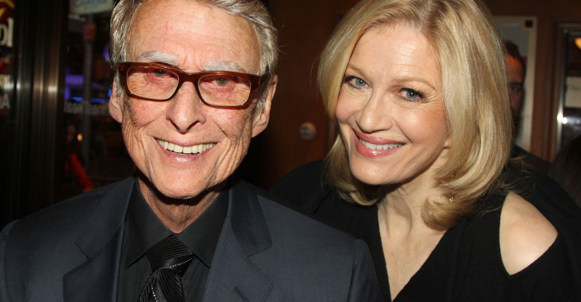 diane swayer mike nichols getty