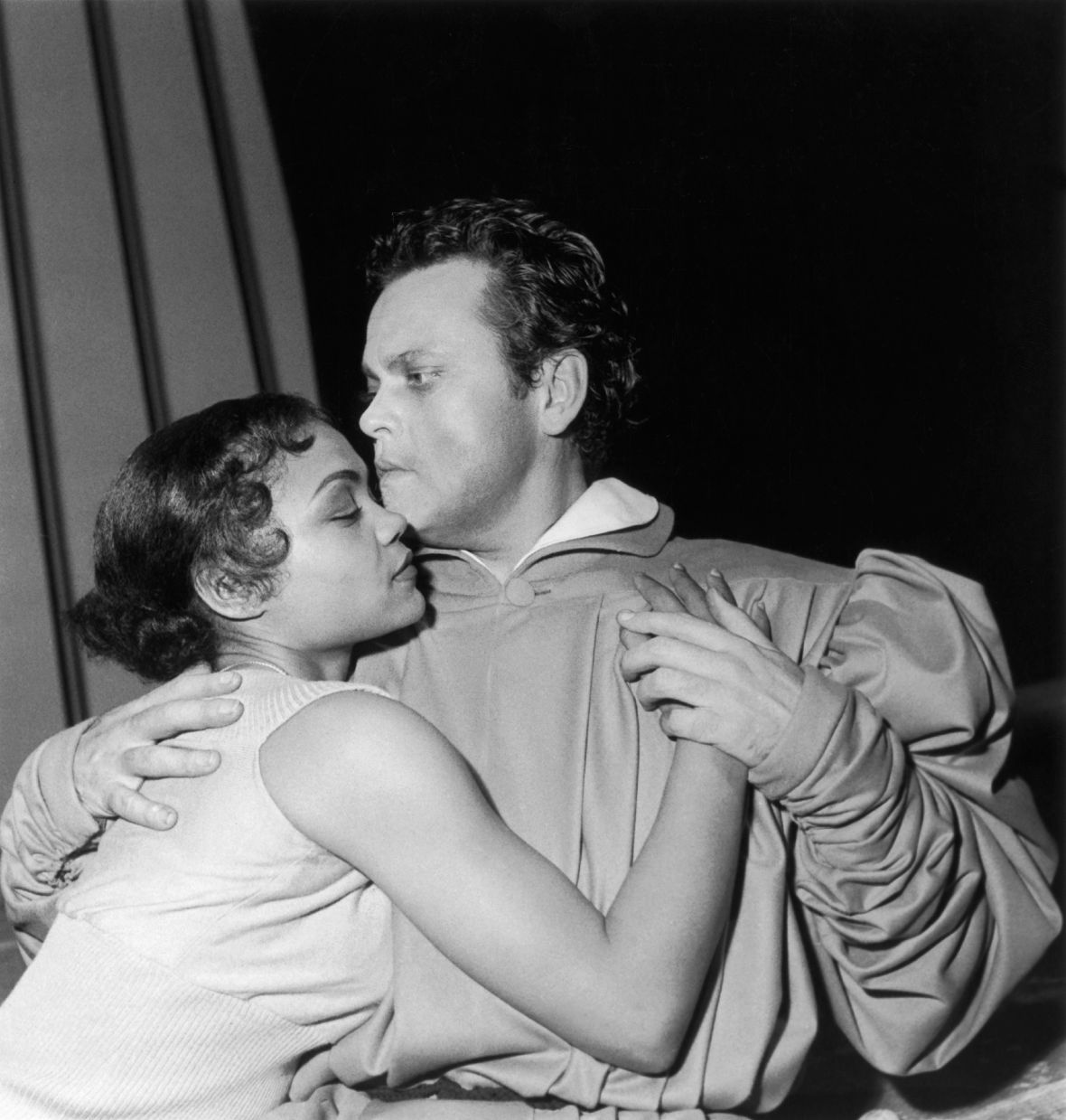 eartha kitt and orson welles getty images