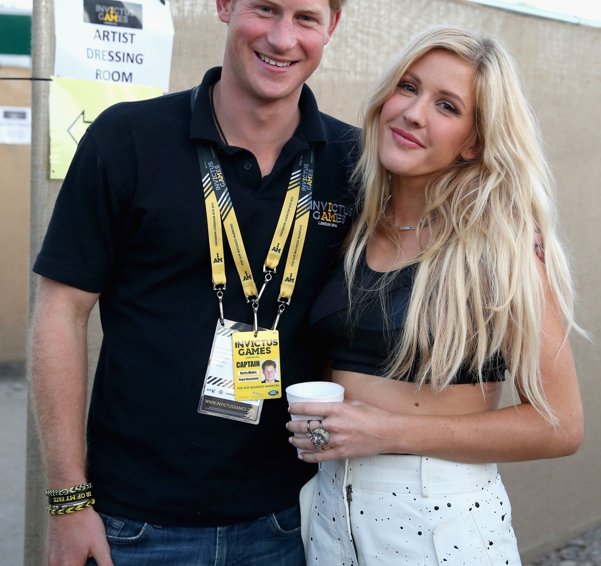 ellie goulding prince harry getty images