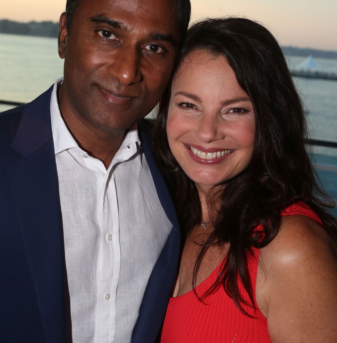 fran drescher shiva ayyadurai getty images
