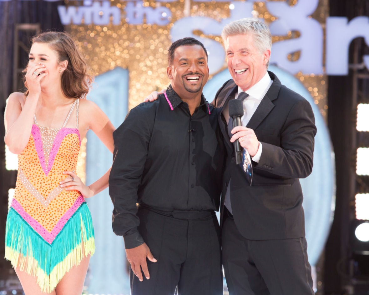 alfonso ribeiro tom bergeron getty