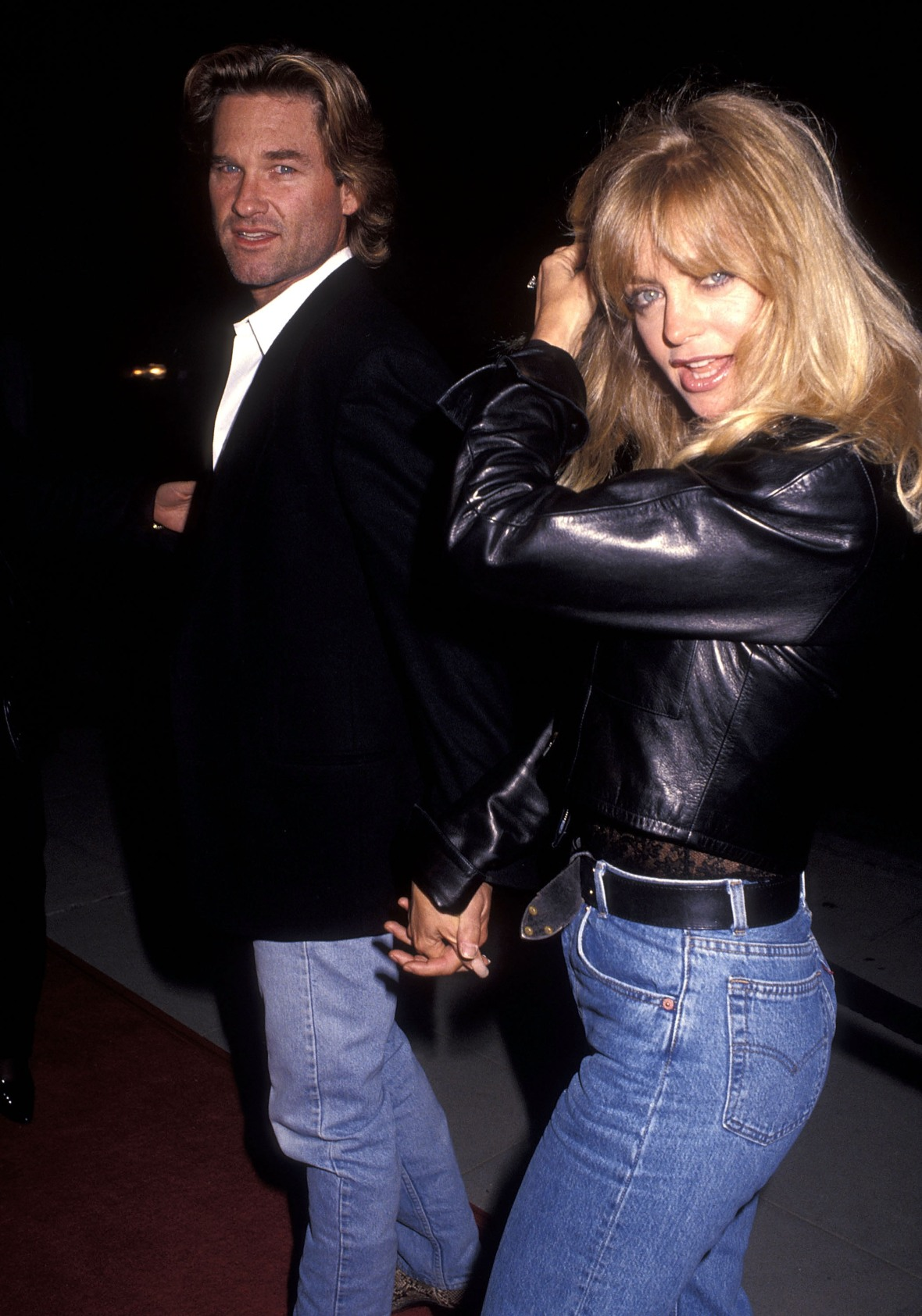 goldie hawn kurt russell getty images