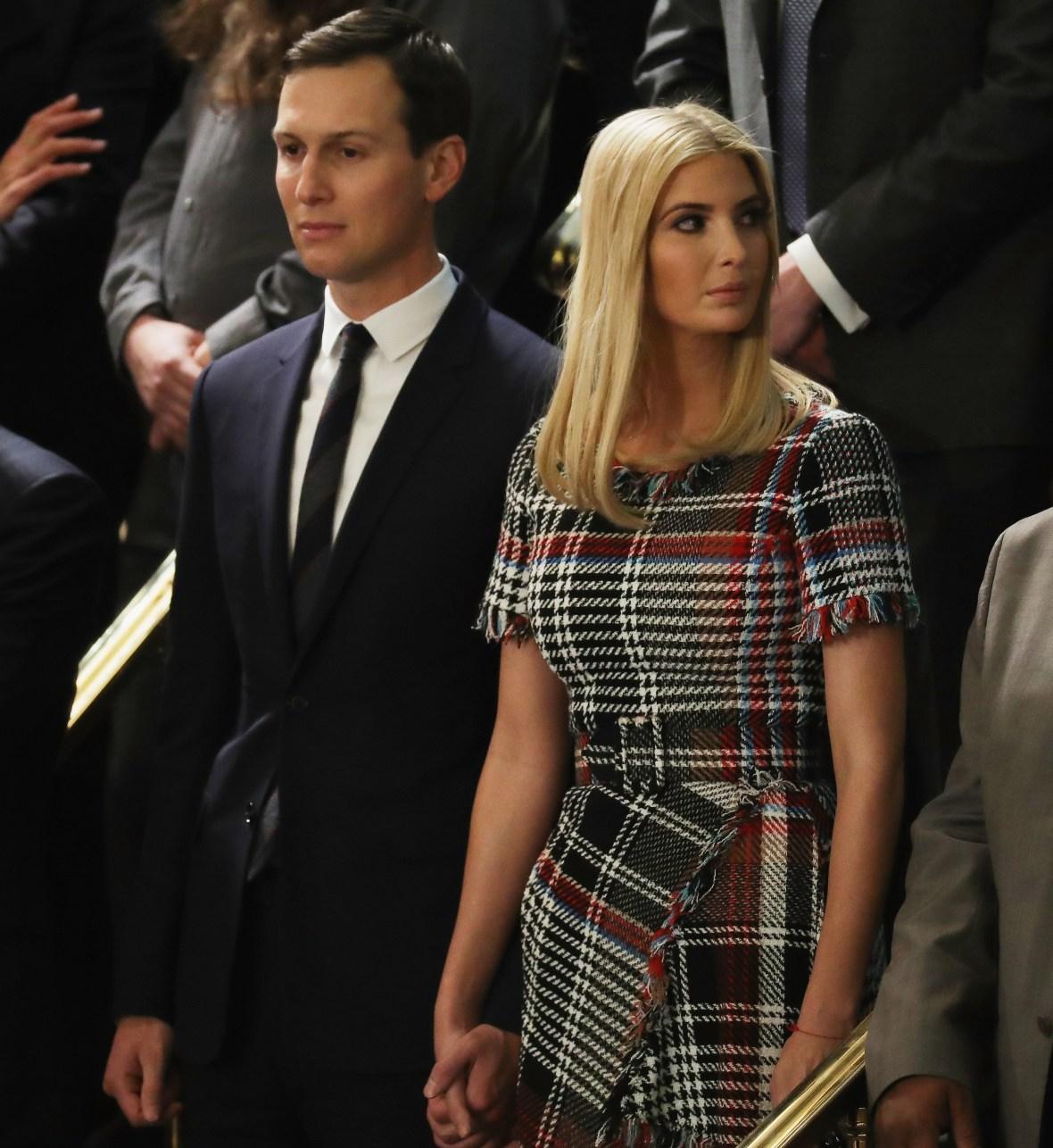 ivanka trump dress getty images