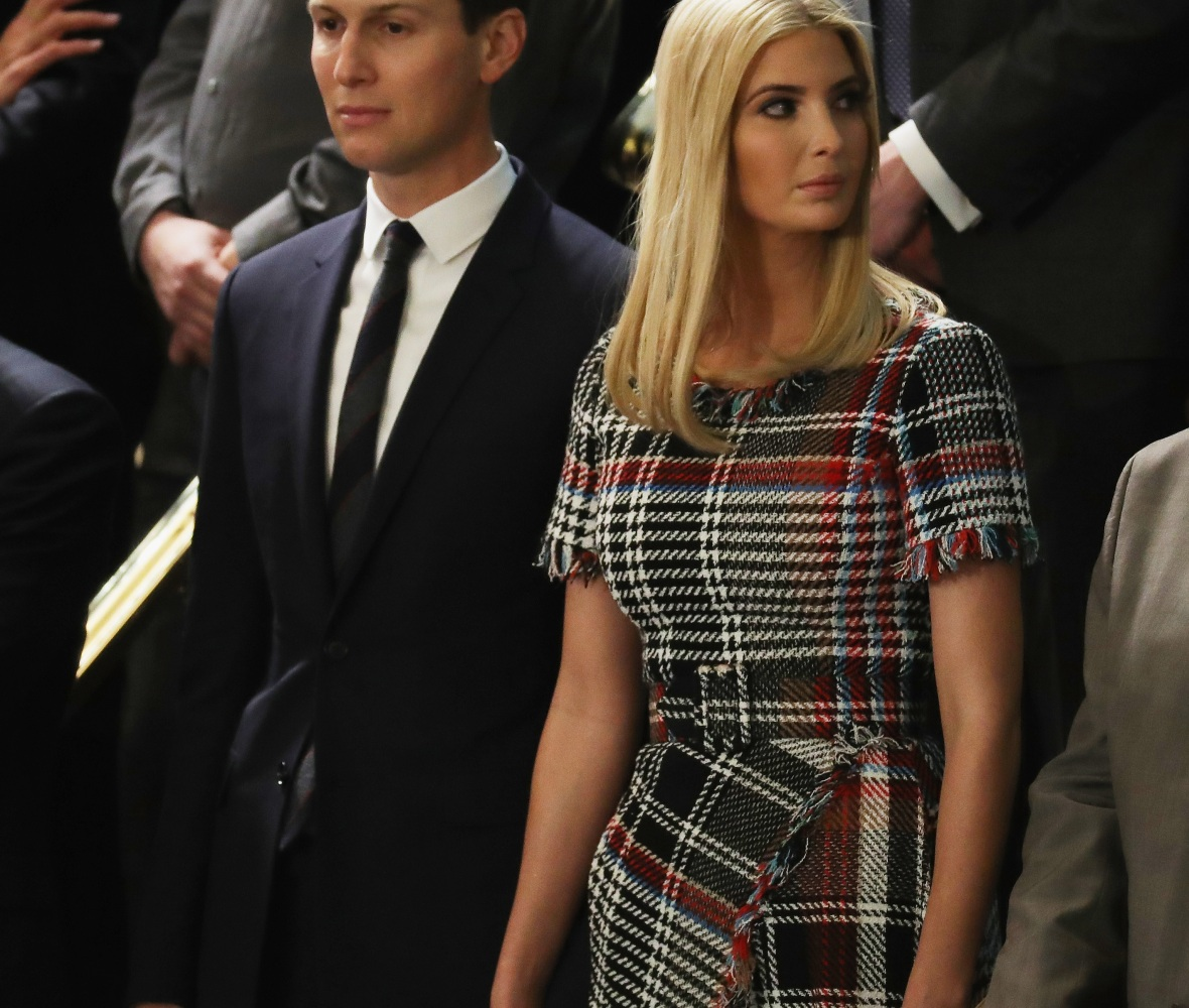 ivanka trump dress getty images
